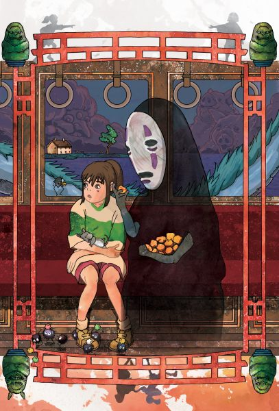 Fan Film Poster-Spirited Away