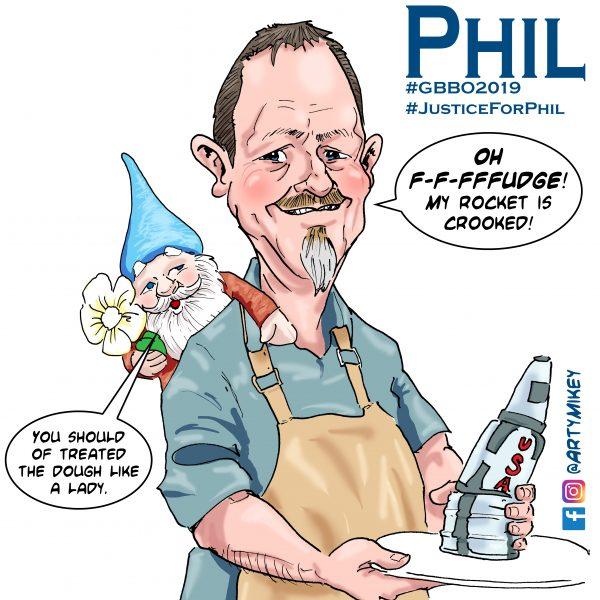 Phil Great British Bake Off 2019