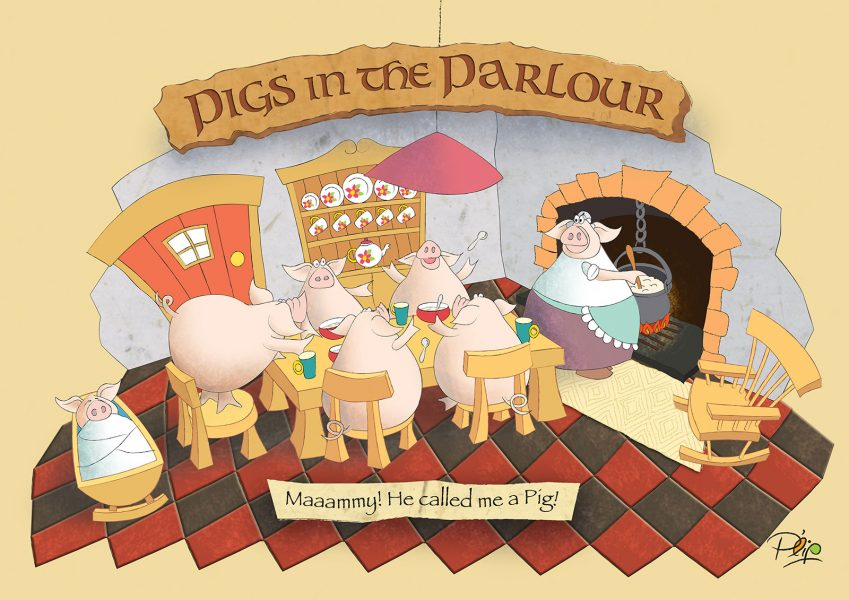 Pigs in the Parlour