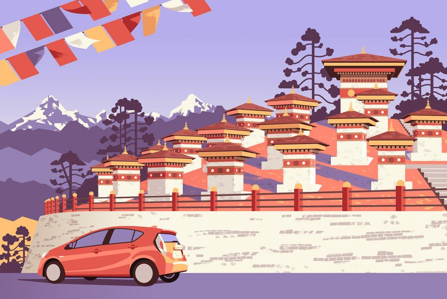 Dochula Pass, Thimpu