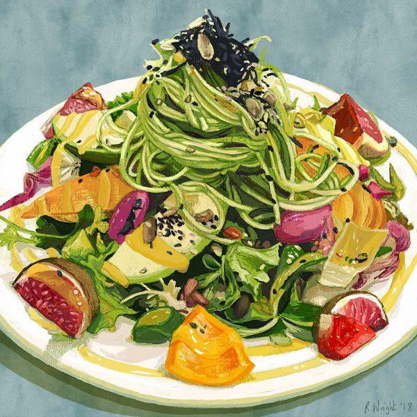 Wild Food Café Ayurvedic Salad