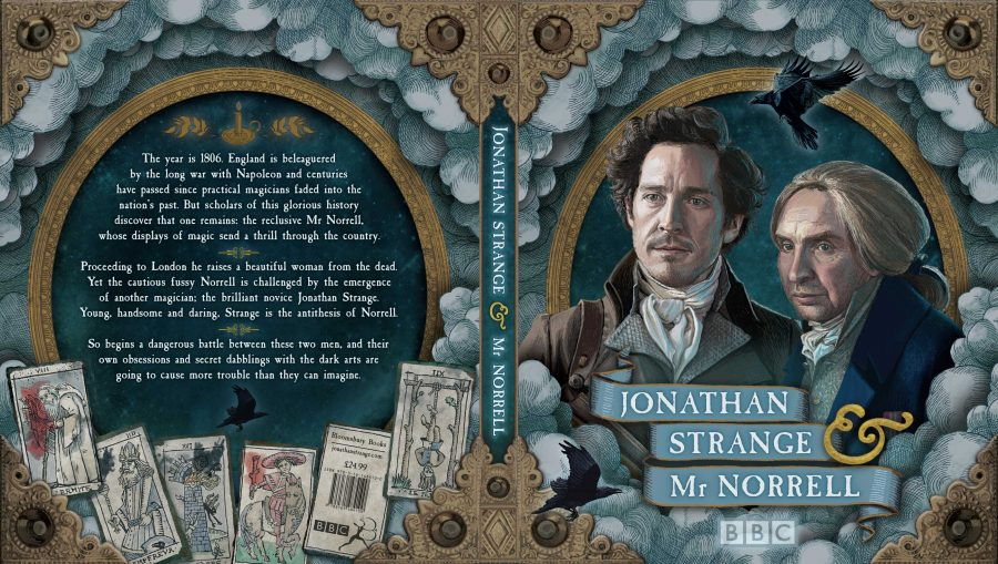 Book Jacket design for 'Jonathan Strange & Mr. Norrell'