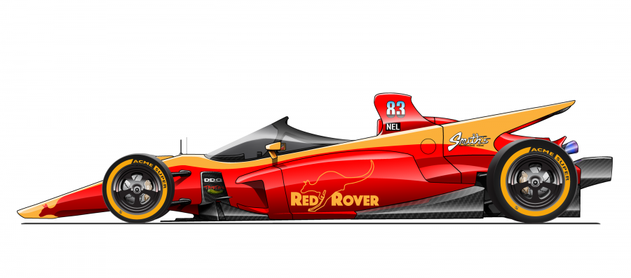Red Rover open wheel racer concept