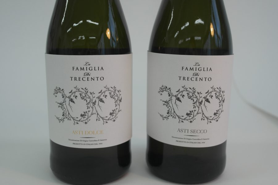Asti Wine label project