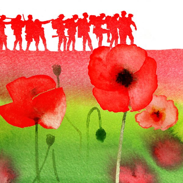 Historical - REMEMBRANCE DAY STAMPS