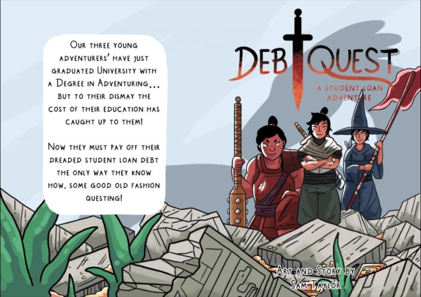 Debtquest Cover Art