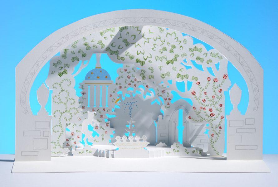 Secret Garden Kirigami
