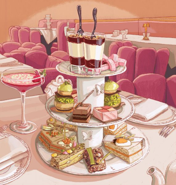 Sketch-London Afternoon Tea