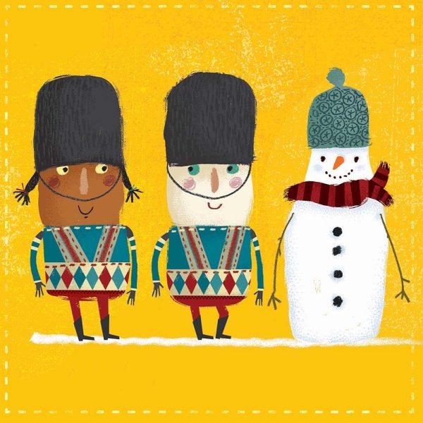 Snowman & Soldiers