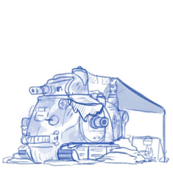 Tank sketch
