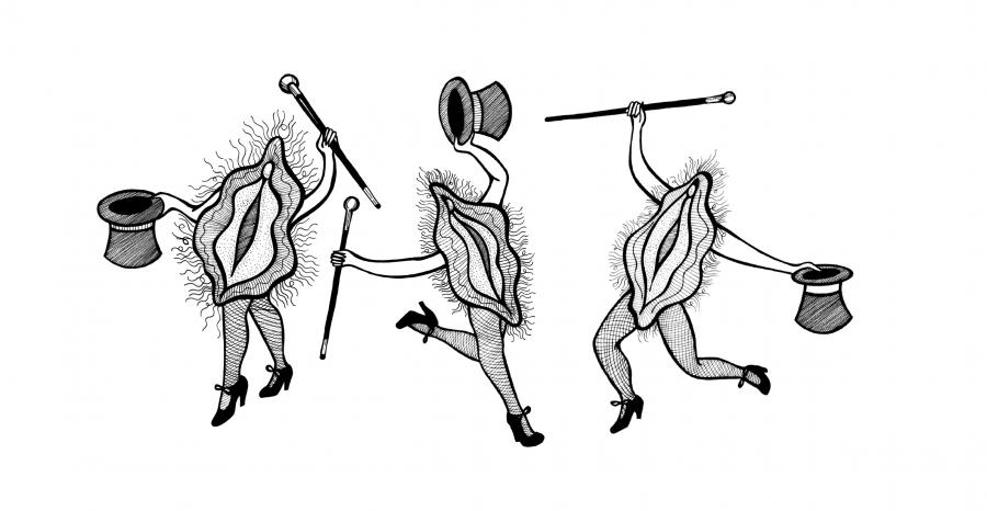 Tap dancing fannies