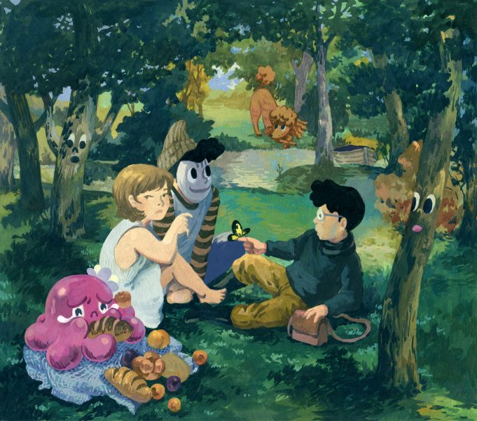The Luncheon on the Grass in the Underland