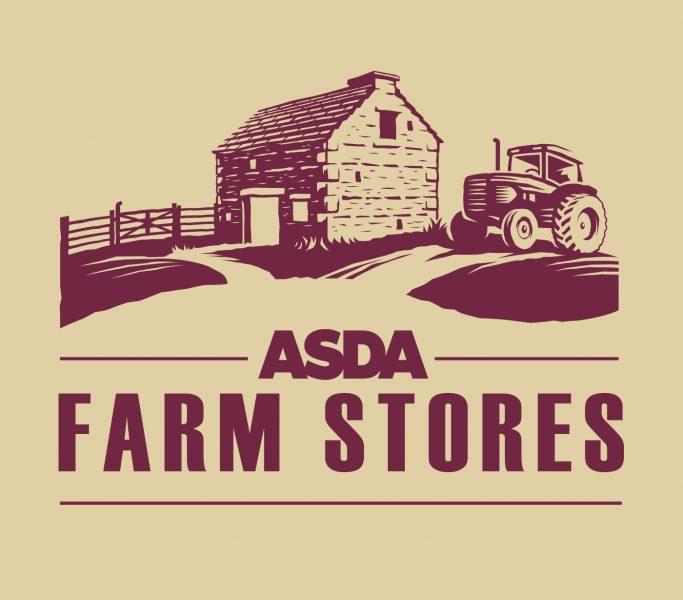 ASDA - FARM STORES logo.