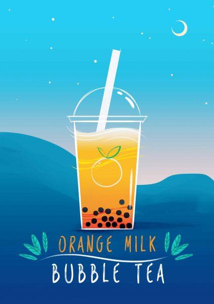 Orange Bobba