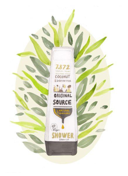 Original Source beauty product, vegan