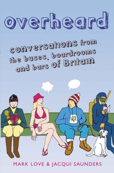 Overheard in London book cover