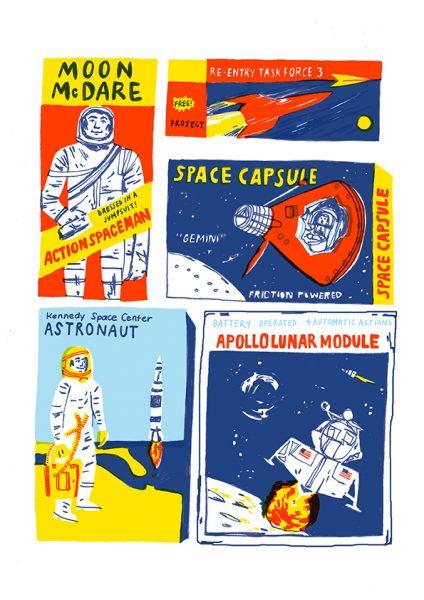 Retro Space Toys