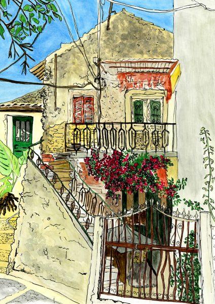 Derelict Corfu Villa