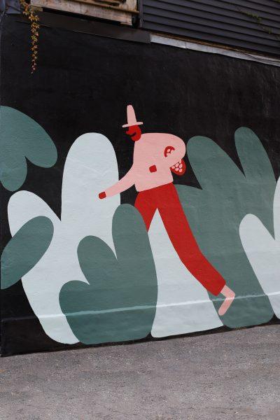 Mural for Avanaa chocolate factory