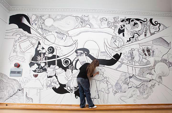 Zizzi / Marlow Mural