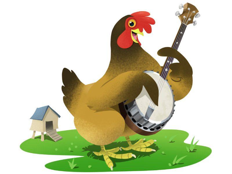 Plucking Chicken