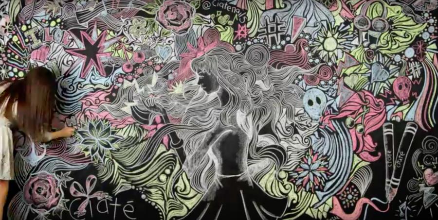 Ciate / Chalkboard Youtube Campaign