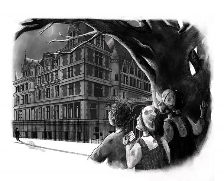 Skavenger's Hunt- The Mansions of Fifth Avenue