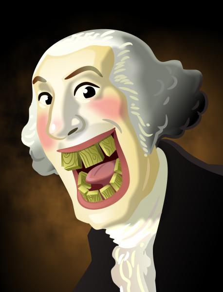 Washingtons Wooden Teeth