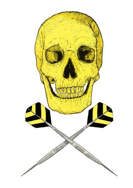 Skull and Darts
