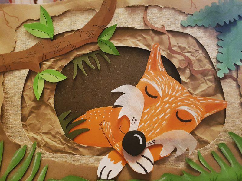 Fox in Hibernation