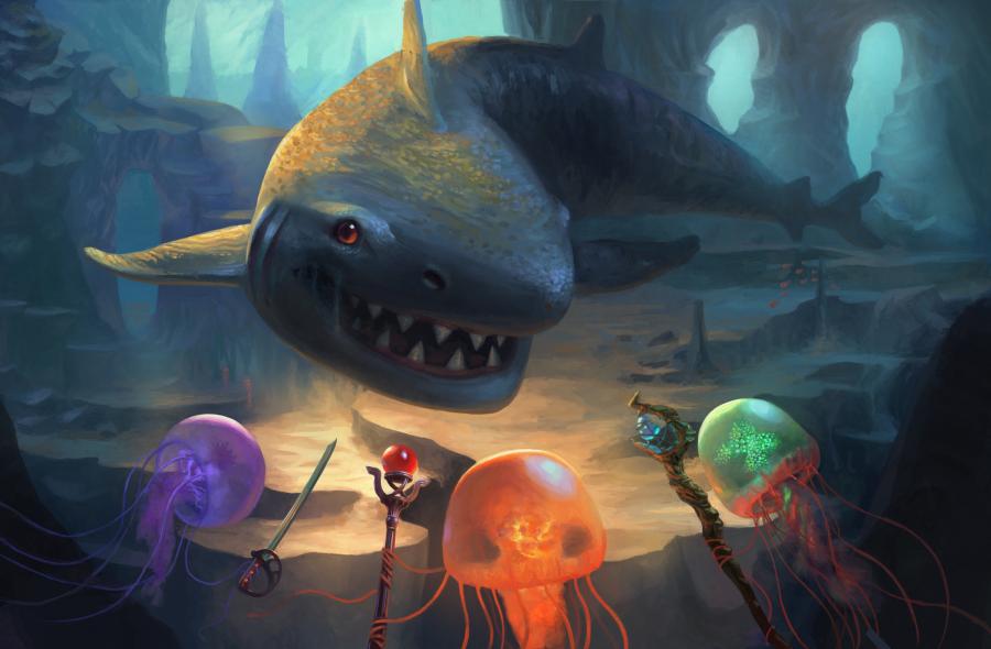 Jellyfish Party - by Efraim Ninsiima