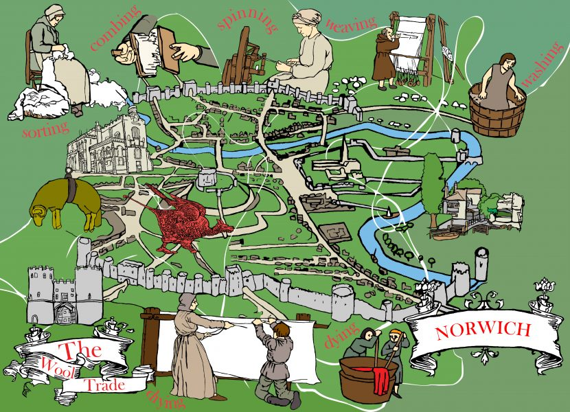 The Norwich Wool Trade