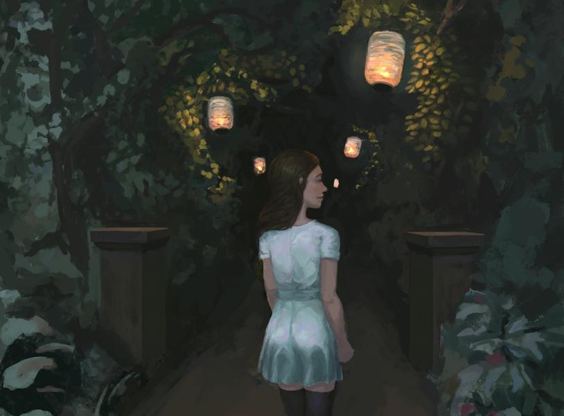 Night-Garden - by Efraim Ninsiima