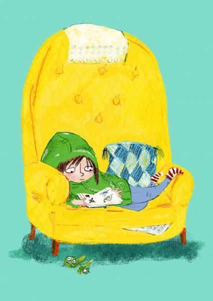 Armchair reading
