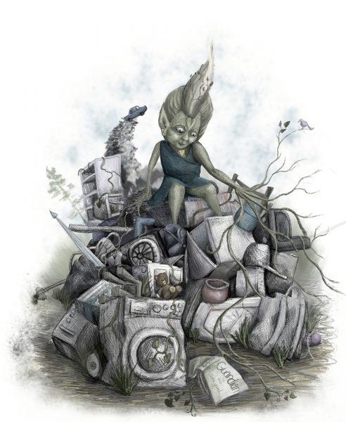 Guardian of the junkyard