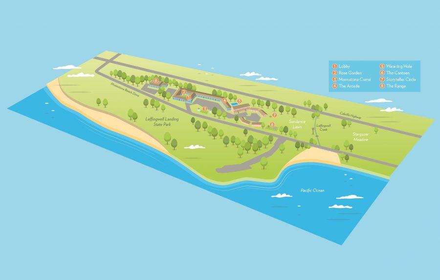 Ocean Point Ranch 3D map