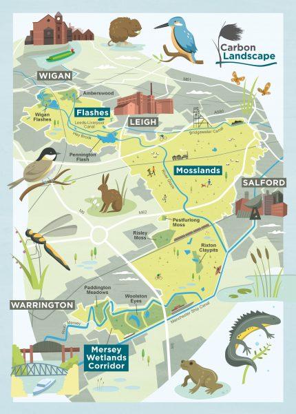 Wildlife Trust map