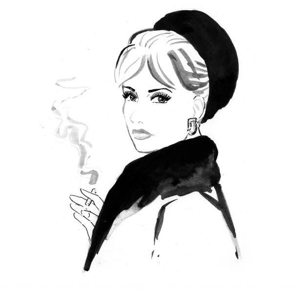 Jeanne Moreau - Portrait