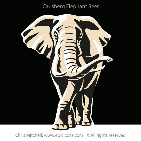Carlsberg Elephant Beer Icon
