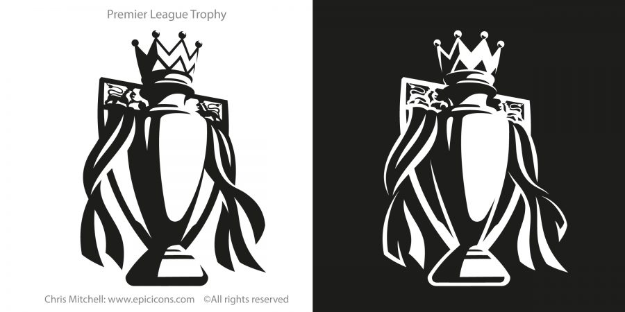 Premier League Trophy Icon