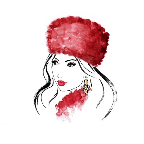 Beauty illustration - Anna Karenina