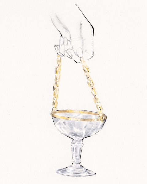 The Champange bag - Alexis Mabille