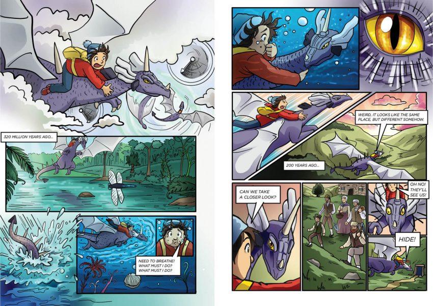Comic For Treak Cliff Cavern Heritage Site