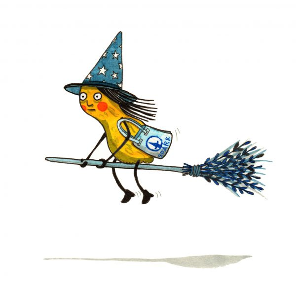 Peanut Witch