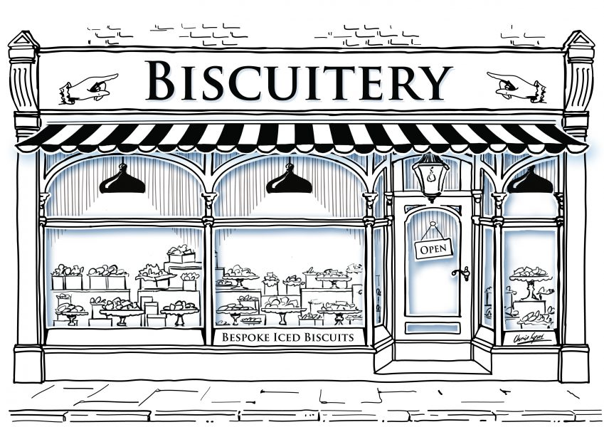 Biscuit shop