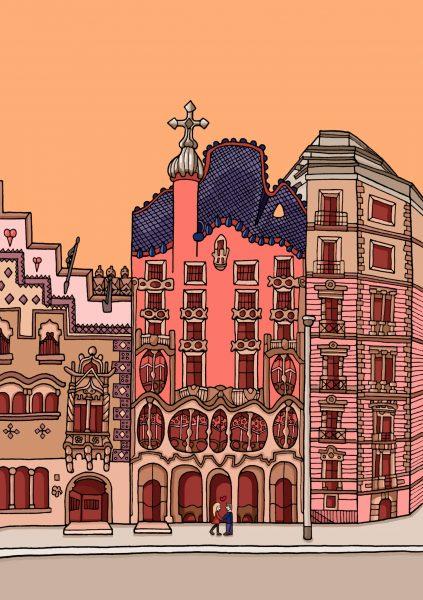 Barcelona: Casa Batllo (T'estimo)