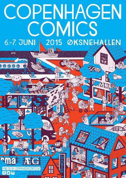 Copenhagen comics 2015 poster