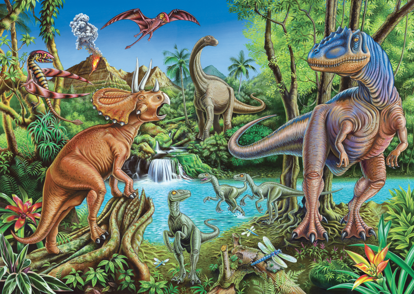 Dinosaur Waterfall