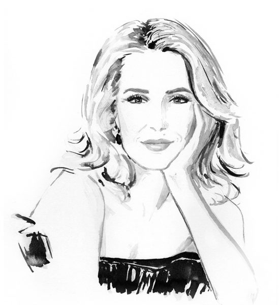 Portrait of Gillian Anderson