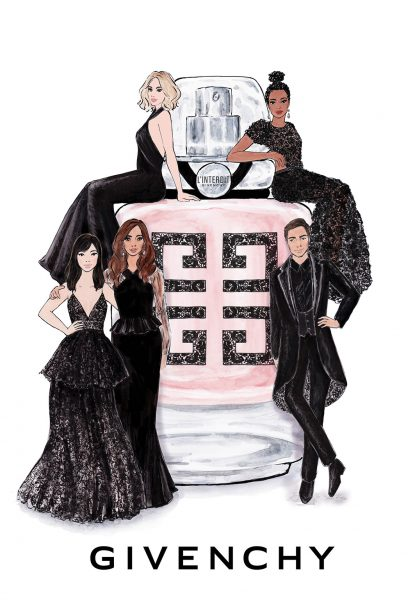 Givenchy l'interdit couture